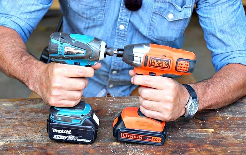 Difference Between Impact Driver, Drill and Hammer Drill